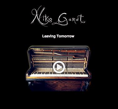 Pochette de l'album Leaving Tomorrow de Niko Gamet